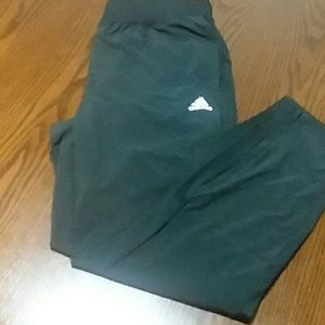 Adidas Slim Fit WV Tapered Leg Joggers(Zip Bottom)